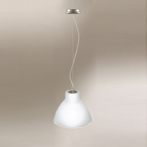 Linea Light - Campana - Campana M - Suspension - Nickel satiné - LS-LL-4431