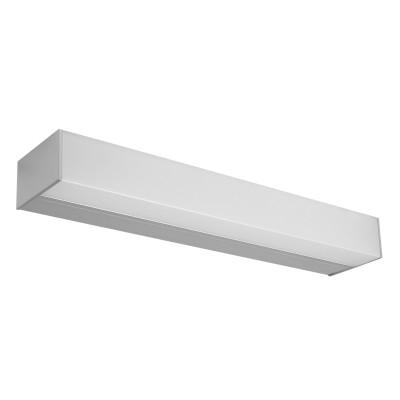 Linea Light - Kioo - Kioo M AP - Applique ou plafonnier - Aluminium poli -  - Blanc chaud - 3000 K - Diffuse