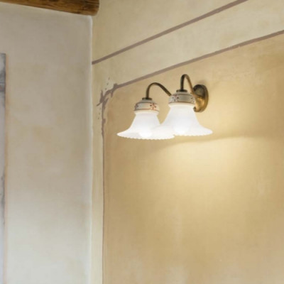 Linea Light - Mami - Applique double classique Mami