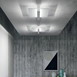 Linea Light - Metal - Metal AP PL LED S - Applique ou plafonnier moderne taille S