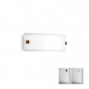 Linea Light - Mille - Mille LED AP M - Applique en verre
