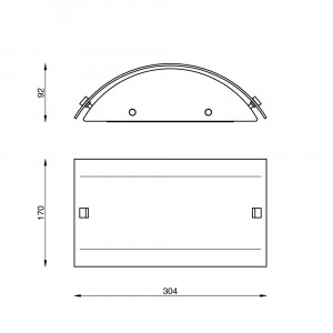 Linea Light - Mille - Mille LED AP S - Applique aux lignes claires