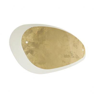 Linea Light - Moledro - Moledro W AP - Applique murale design - Blanc/Or - LS-LL-90316
