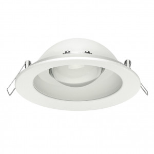 Linea Light - Outlook - Outlook FA recessed - Spot encastrable - Blanc -  - Blanc chaud - 3000 K - Diffuse