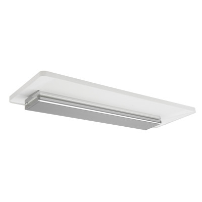 Linea Light - Skinny - Skinny S AP - Étagère lumineuse - Aluminium poli -  - Blanc chaud - 3000 K - Diffuse