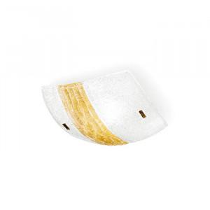 Linea Light - Syberia - Plafonnier et applique cristal et ambre M - Syberia - Verre artistique/ambre - LS-LL-4490