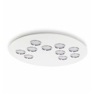 Lumen Center - Brick e Brac - Brac 10 PL - Plafonnier design en forme ronde dix lumières LED