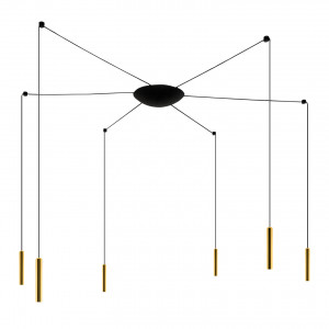 Ma&De - 2Nights - 2Nights P6 SP LED - Suspension design 6 lumières