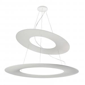 Ma&De - Kyklos - Kyklos LED 2 ROUND SP - Lustre LED avec deux anneaux