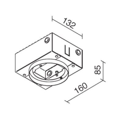 Traddel - Wall housing and outercasing - Traddel Outer casing 61360 - Aucun - LS-LL-61360
