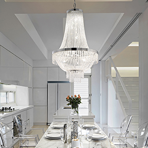 Crystal chandeliers Ideal Lux