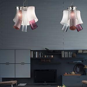 Vistosi lampes de plafond