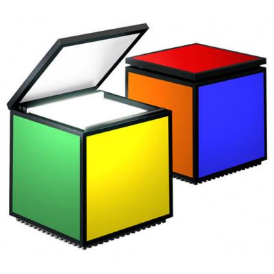Altri Brand - Cini&Nils - Cuboluce - Cuboluce TL - Lampada da comodino  - Multicolor - LS-CN-294