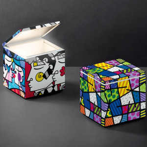 Altri Brand - Cini&Nils - Cuboluce - Cuboluce TL SE - Lampada da comodino Special Edition