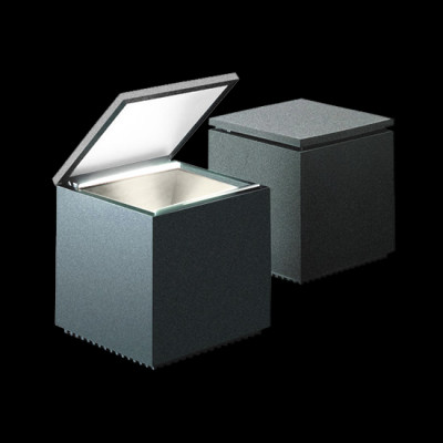 Altri Brand - Cini&Nils - Cuboluce TL - Lampada da comodino  - Antracite - LS-CN-139