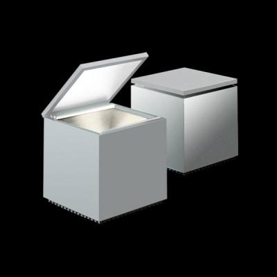 Altri Brand - Cini&Nils - Cuboluce TL - Lampada da comodino  - Grigio metallizzato - LS-CN-288