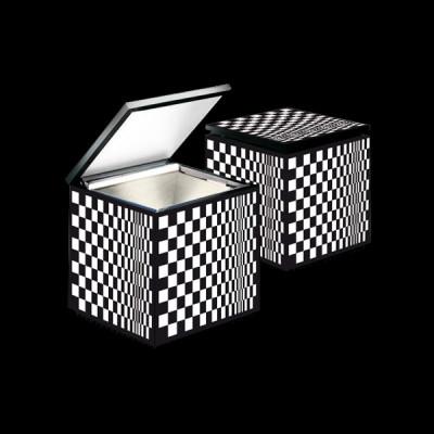 Altri Brand - Cini&Nils - Cuboluce TL - Lampada da comodino  - Nero/Bianco - LS-CN-245