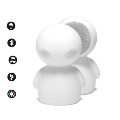 Altri Brand - IOlux - Et-Sound TL OUT LED RGB - Lampada da tavolo con altoparlante bluetooth - Bianco - LS-LC-IOET - RGBW - Diffusa