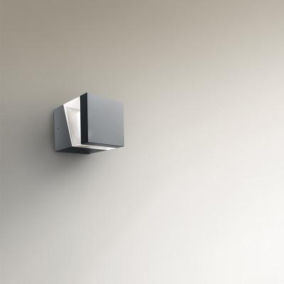 Artemide - Artemide Outdoor - Tetragono AP LED - Applique da esterno - Antracite - LS-AR-T417300W00 - Bianco caldo - 3000 K - Diffusa
