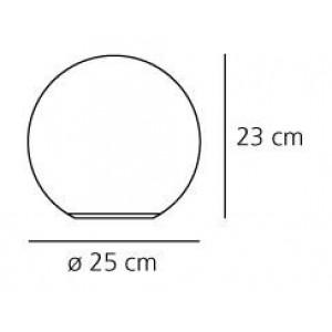 Artemide - Dioscuri - Dioscuri TL 25 M - Lampada da tavolo sferica M