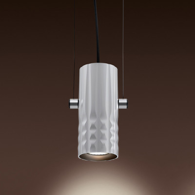 Artemide - Fiamma - Fiamma 30 SP LED - Lampadario di design - Grigio - LS-AR-1990010A - Bianco caldo - 3000 K - Diffusa