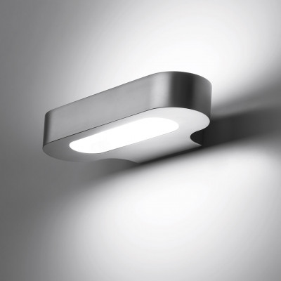 Artemide - Talo - Talo AP LED - Applique LED - Argento - Diffusa