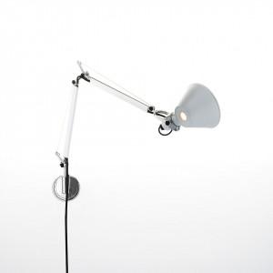 Artemide - Tolomeo - Tolomeo AP Micro - Lampada da parete di design - Alluminio - LS-AR-A010900-S1