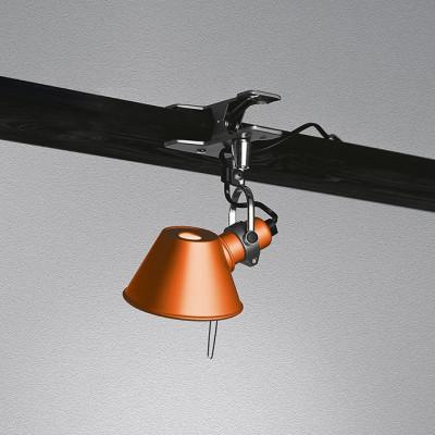 Artemide - Tolomeo - Tolomeo AP Micro Pinza - Lampada da parete - Arancione - LS-AR-A010860