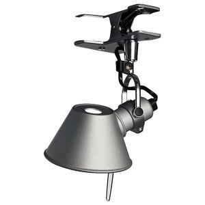 Artemide - Tolomeo - Tolomeo AP Micro Pinza Led - Lampada da parete a LED - Alluminio -  - Super Caldo - 2700 K - Diffusa