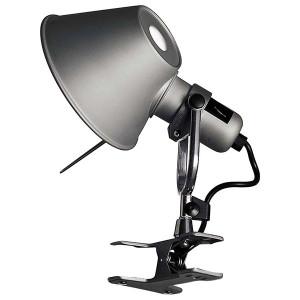 Artemide - Tolomeo - Tolomeo AP Pinza Led - Lampada da parete a LED - Alluminio -  - Super Caldo - 2700 K - Diffusa