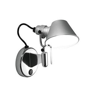 Artemide - Tolomeo - Tolomeo FA LED -  Faretto da parete LED  - Alluminio -  - Super Caldo - 2700 K - Diffusa