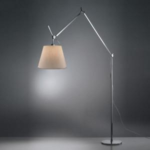 Artemide - Tolomeo - Tolomeo PT Mega 32 - Lampada piantana diffusore S - Alluminio/pergamena - LS-AR-0564010A-B1-P1