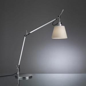 Artemide - Tolomeo - Tolomeo TL Basculante - Lampada da tavolo con bracci - Pergamena - LS-AR-0947010A-B1