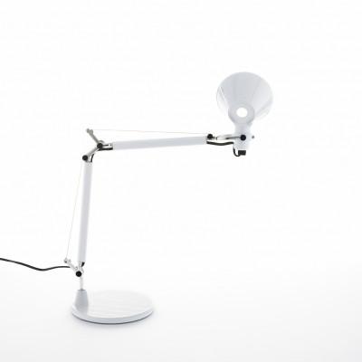Artemide - Tolomeo - Tolomeo TL Micro - Lampada da tavolo - Bianco lucido - LS-AR-0011820A