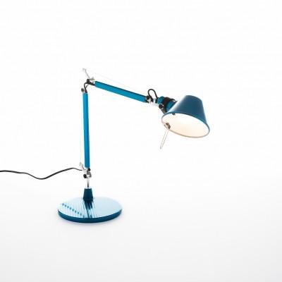 Artemide - Tolomeo - Tolomeo TL Micro - Lampada da tavolo - Blu - LS-AR-A011850