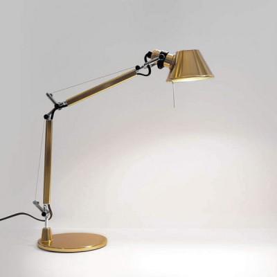 Artemide - Tolomeo - Tolomeo TL Micro - Lampada da tavolo - Oro - LS-AR-0011860A