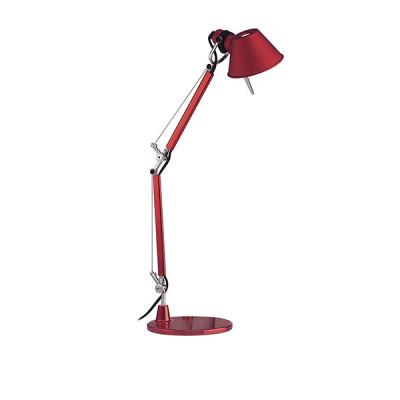 Artemide - Tolomeo - Tolomeo TL Micro - Lampada da tavolo - Rosso - LS-AR-A011810