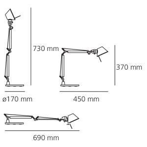 Artemide - Tolomeo - Tolomeo TL Micro Led - Lampada da tavolo