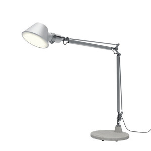 Artemide - Tolomeo - Tolomeo TL Mini Led - Lampada da tavolo LED - Alluminio -  - Bianco caldo - 3000 K - Diffusa