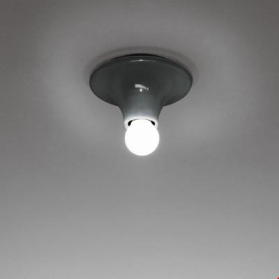Artemide - Vintage - Lampade vintage - Teti PL - Lampada da soffitto vintage - Antracite - LS-AR-A048150