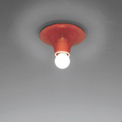 Artemide - Vintage - Lampade vintage - Teti PL - Lampada da soffitto vintage - Arancione - LS-AR-A048110