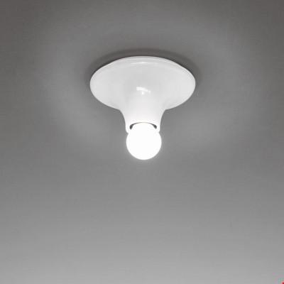 Artemide - Vintage - Lampade vintage - Teti PL - Lampada da soffitto vintage - Bianco - LS-AR-A048120