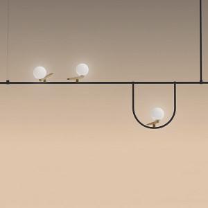 Artemide - Yanzi - Yanzi 1 SP LED - Lampadario di design a tre luci