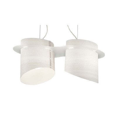Artempo - Brothers - Tommys SP - Lampada a sospensione - Larice Bianco - LS-AT-638-B