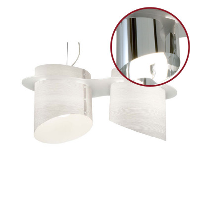 Artempo - Brothers - Tommys SP - Lampada a sospensione - Metalux Cromato - LS-AT-638-A