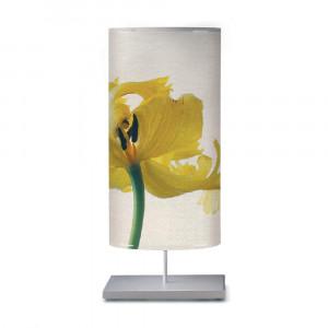 Artempo - Castor e Pollux - Castor e Pollux Serie Flower TL L - Lumetto da tavolo decorato