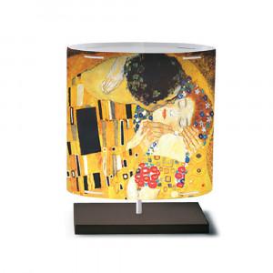 Artempo - Castor e Pollux - Castor e Pollux Serie Klimt TL S - Lampada da tavolo moderna