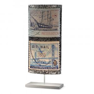 Artempo - Castor e Pollux - Castor e Pollux Serie Stamps TL L - Lampada da tavolo vintage