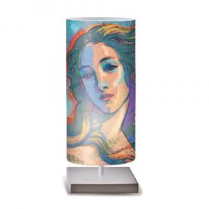 Artempo - Idra - Idra Serie Print TL - Lampada da tavolo decorata