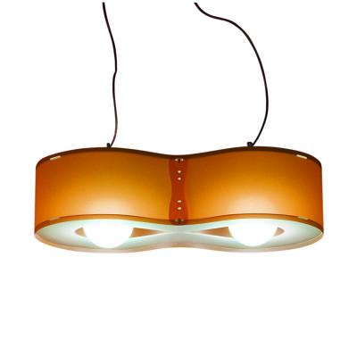 Artempo - Sospensioni in Polilux - Blob SP - Lampada a sospensione moderna - Polilux Arancio - LS-AT-103-A